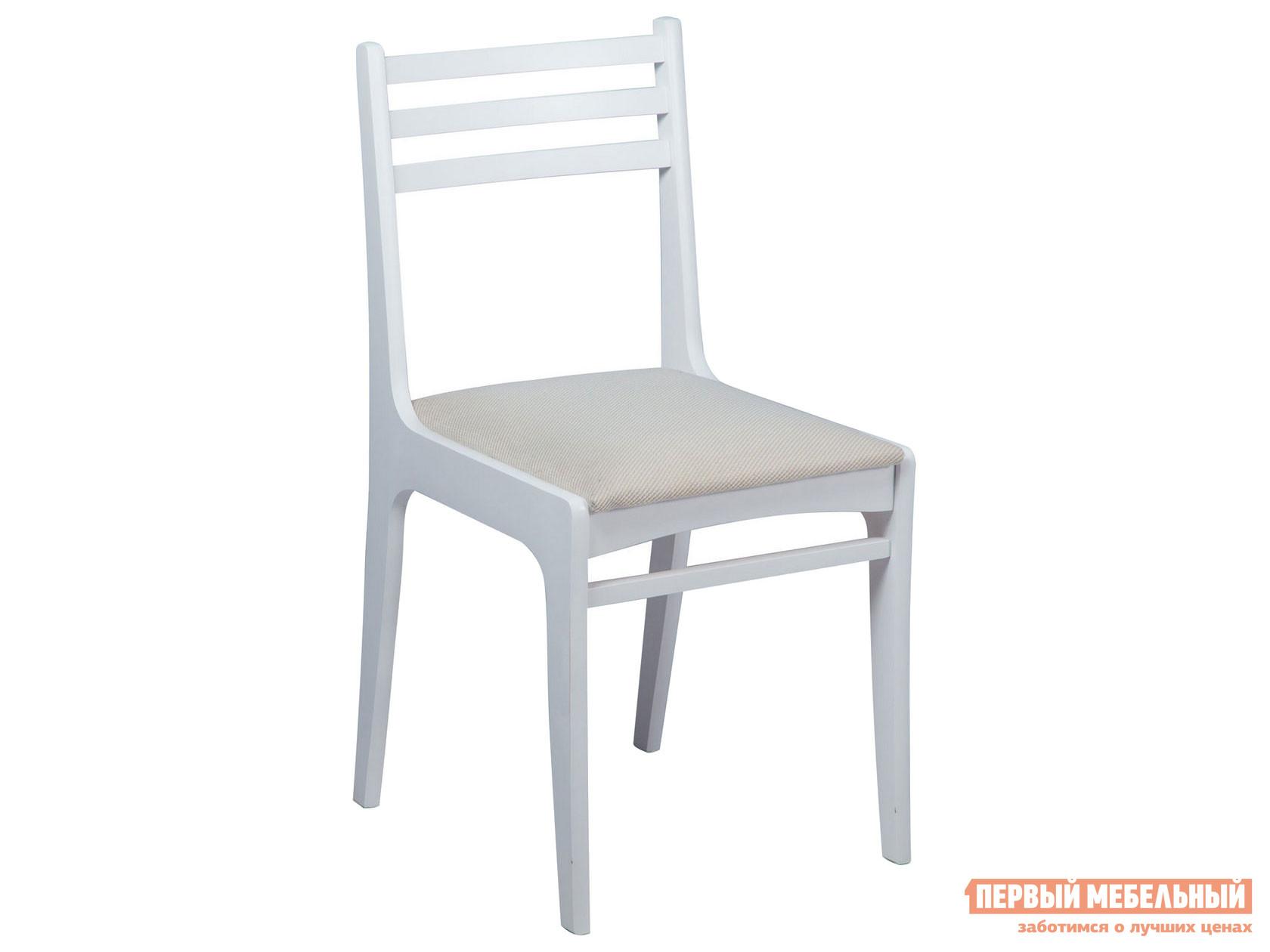 Стул  Грис (С8) Белая эмаль / Брикс Ивори Mebwill 113702