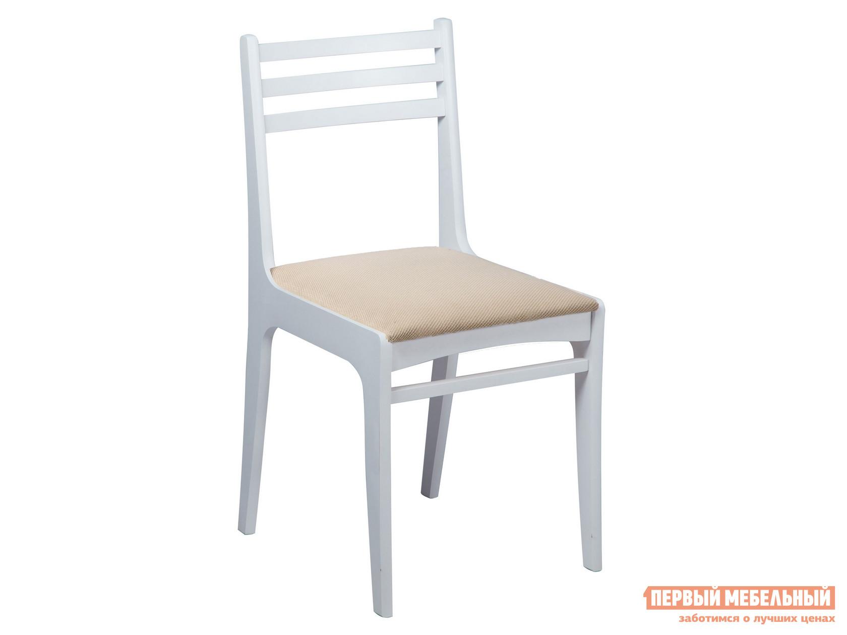 Стул  Грис (С8) Белая эмаль / Аполло Беж Мебвилл 127345