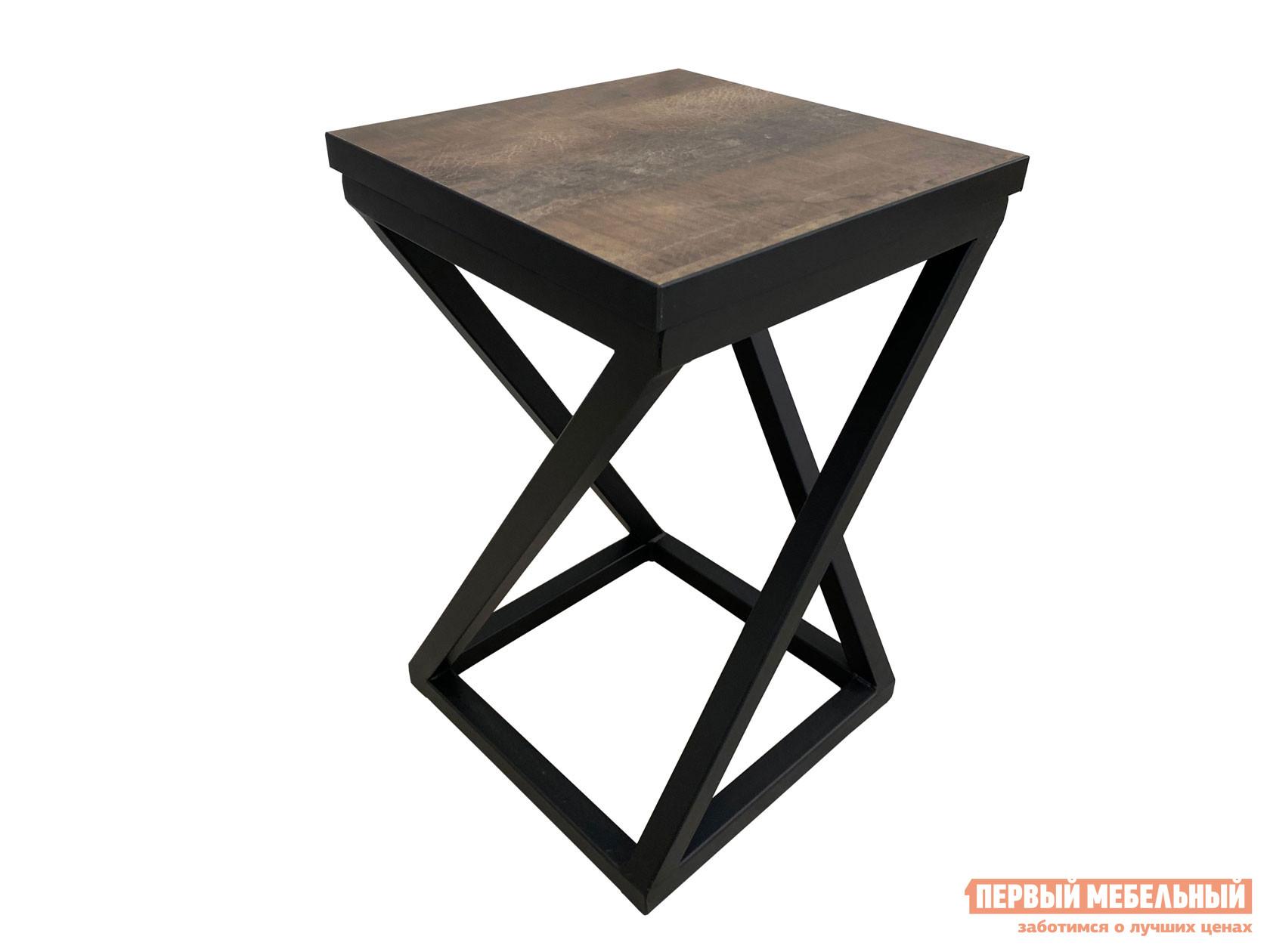 Табурет  Саен 6 Черный, металл / Трансильвания, пластик Мебвилл 119880