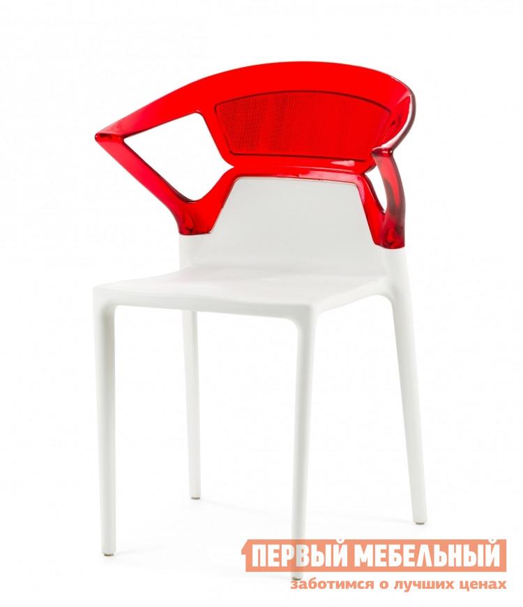 Пластиковый стул Cosmo Relax Swap с подлокотниками барный стул cosmo relax marais color 2