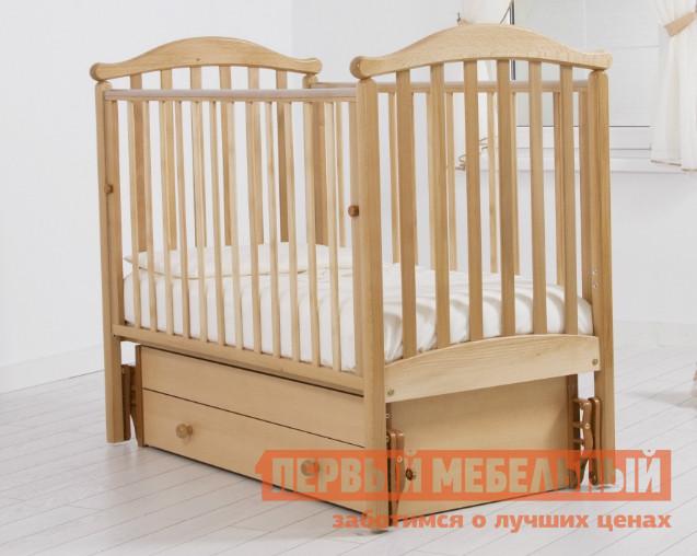 Кроватка Гандылян К-2002-06м обычная кроватка гандылян людмила к2002 06м натуральная