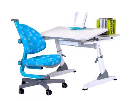 Парта с креслом Эргономик М2 (TD2124KW) + Эрго Бабо (TC1007) Эргономик М2 + Кресло Эрго Бабо