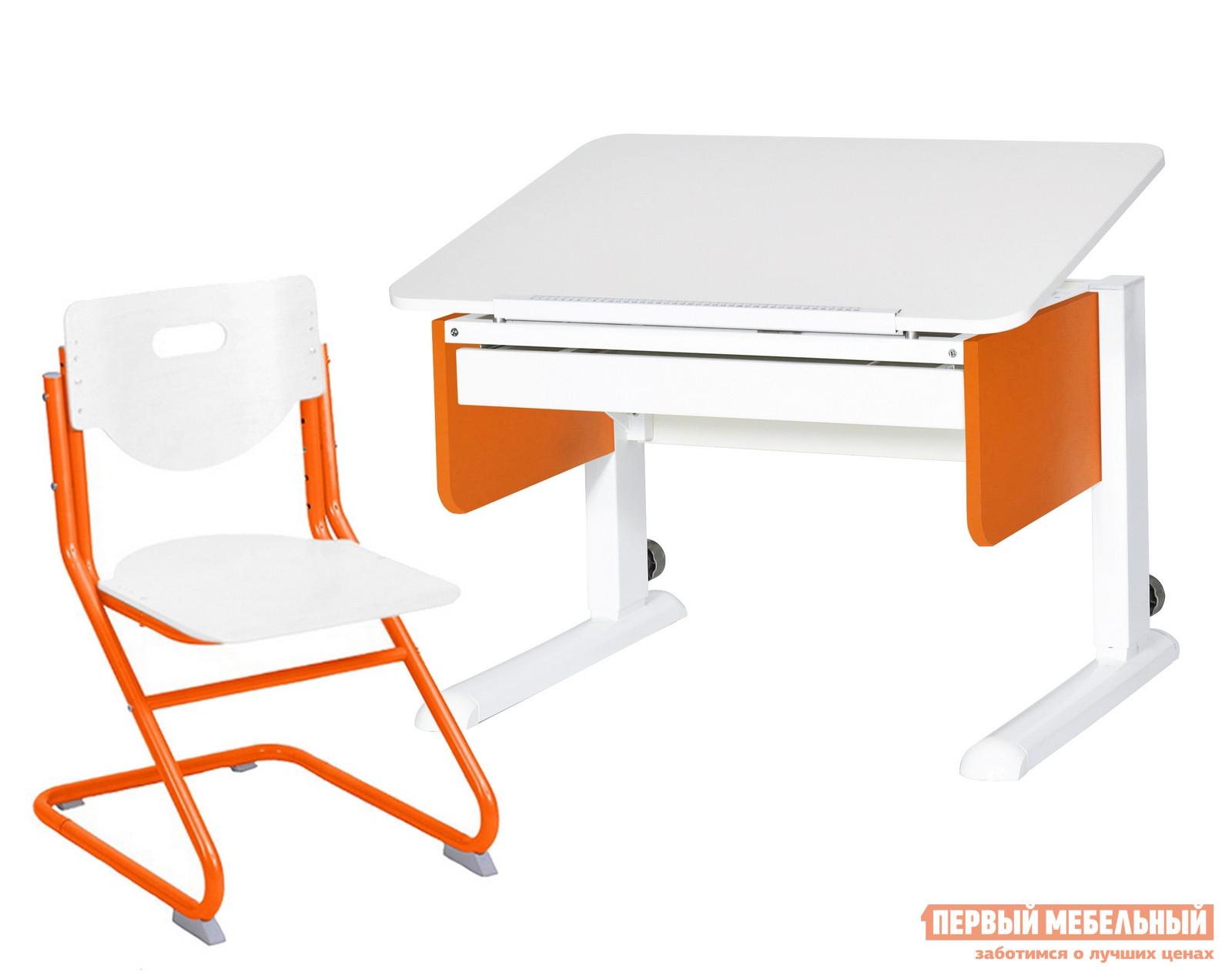 Парта со стулом Партаторг Стол Юниор + SK-2 Стул Астек электропростыня imetec 16050
