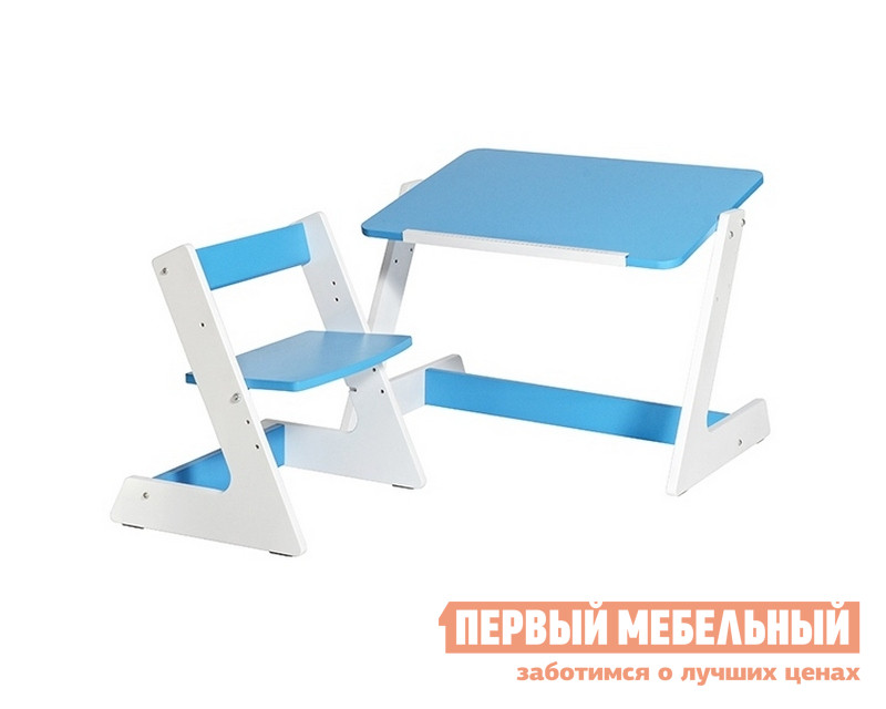 Парта со стулом Партаторг Стол фанерный + стул фанерный Пиноккио