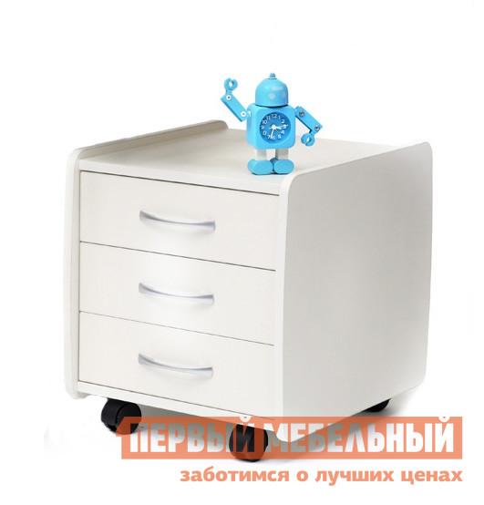 Тумба детская Астек-Элара Тумба выкатная 3 ящика Белый от Купистол
