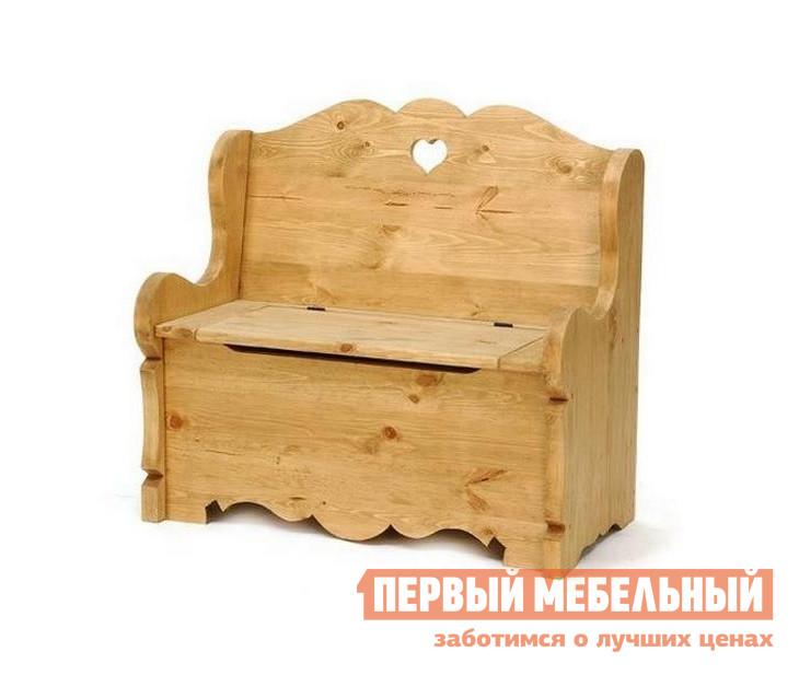 Скамейка-сундук из сосны Волшебная сосна BANCOFFRE