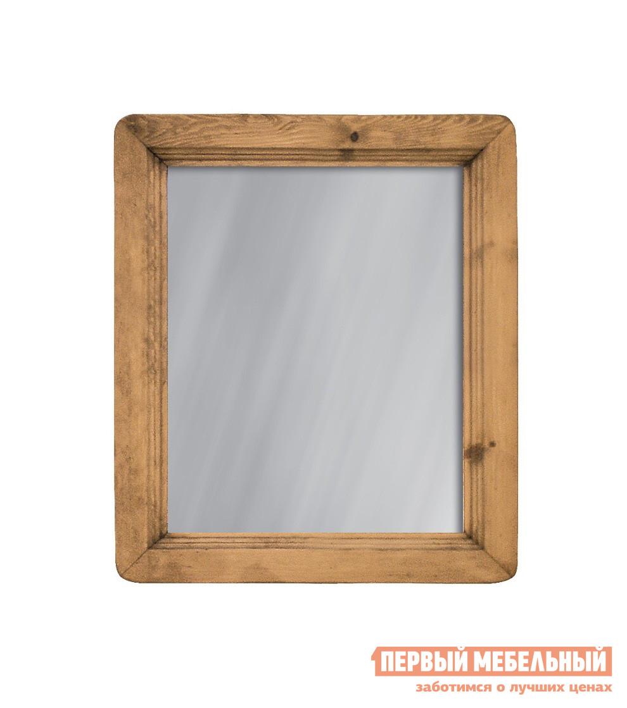 Настенное зеркало Волшебная сосна MIRMEX 60 x 70 Массив сосны