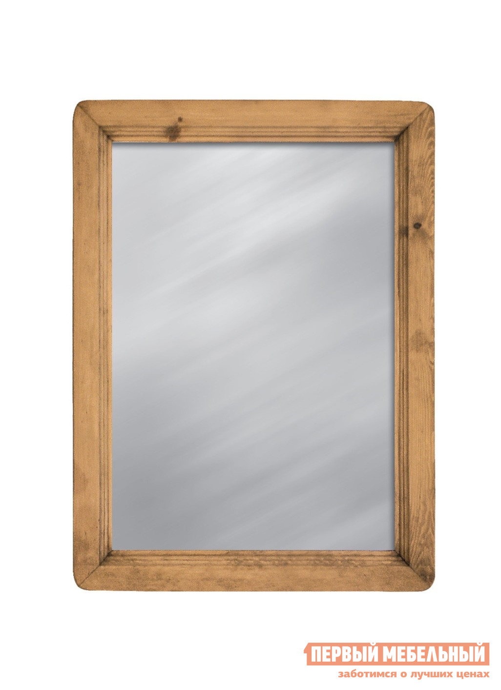 Купить со скидкой Настенное зеркало Волшебная сосна MIRMEX 70 x 95 Массив сосны