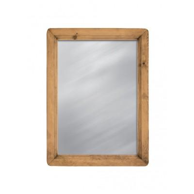 Настенное зеркало Волшебная сосна MIRMEX 70 x 95 Массив сосны