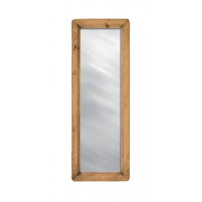 Настенное зеркало Волшебная сосна MIRMEX 50 x 140 Массив сосны
