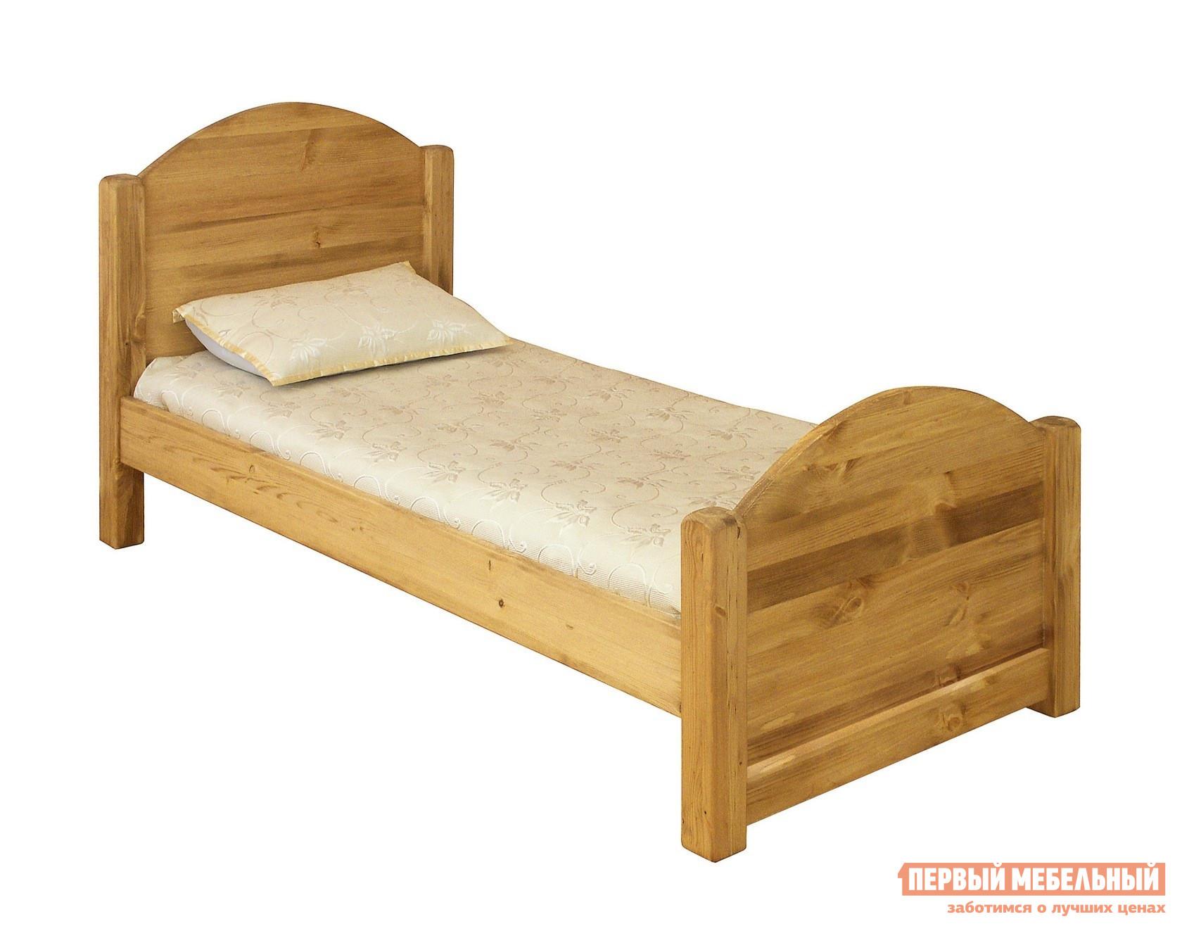 Односпальная кровать из сосны Волшебная сосна LIT MEX 90 (LMEX 90) волшебная сосна комод волшебная сосна confiturier roberto массив сосны