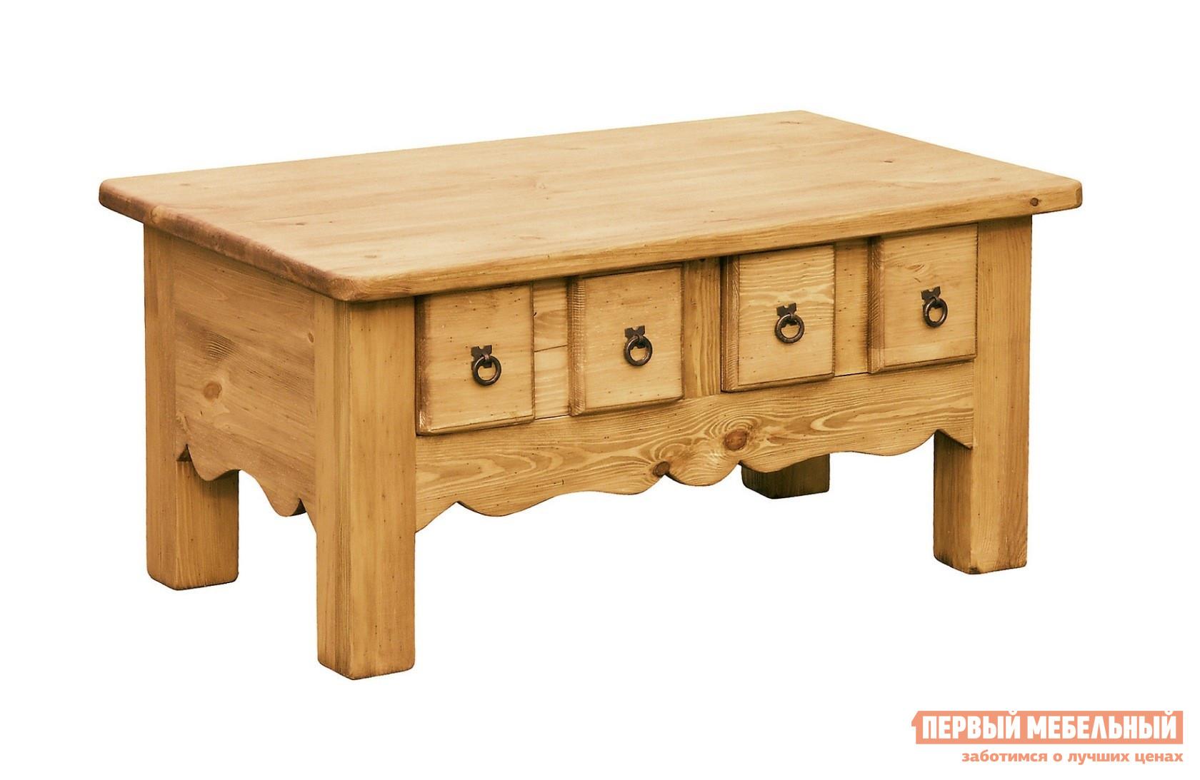 Журнальный столик из массива дерева Волшебная сосна MONTANA