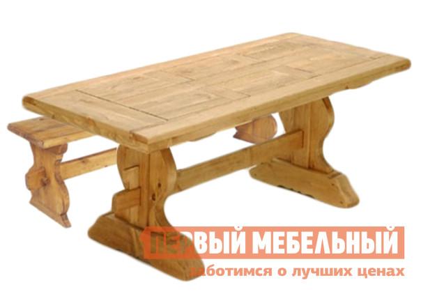 Комплект садовой мебели Волшебная сосна TABLE MONASTERE 220 + BANCMONA