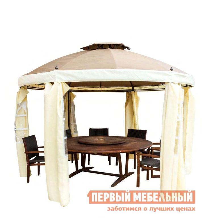 Круглый шатер для дачи Bigarden Yutera