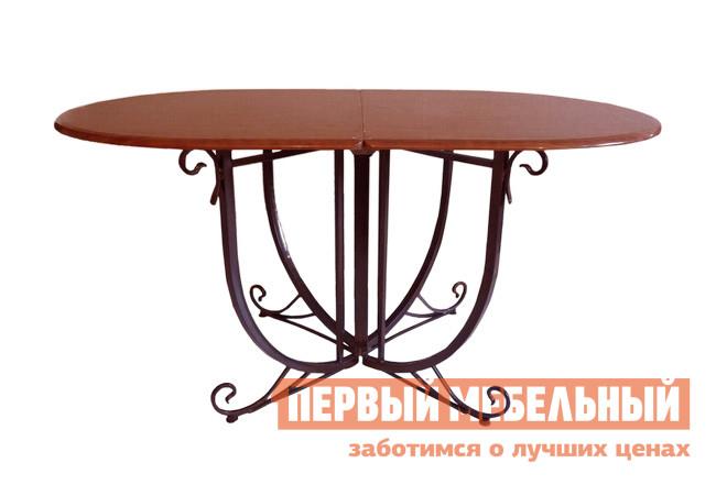 Овальный стол-книжка раскладной Поли-М Византия