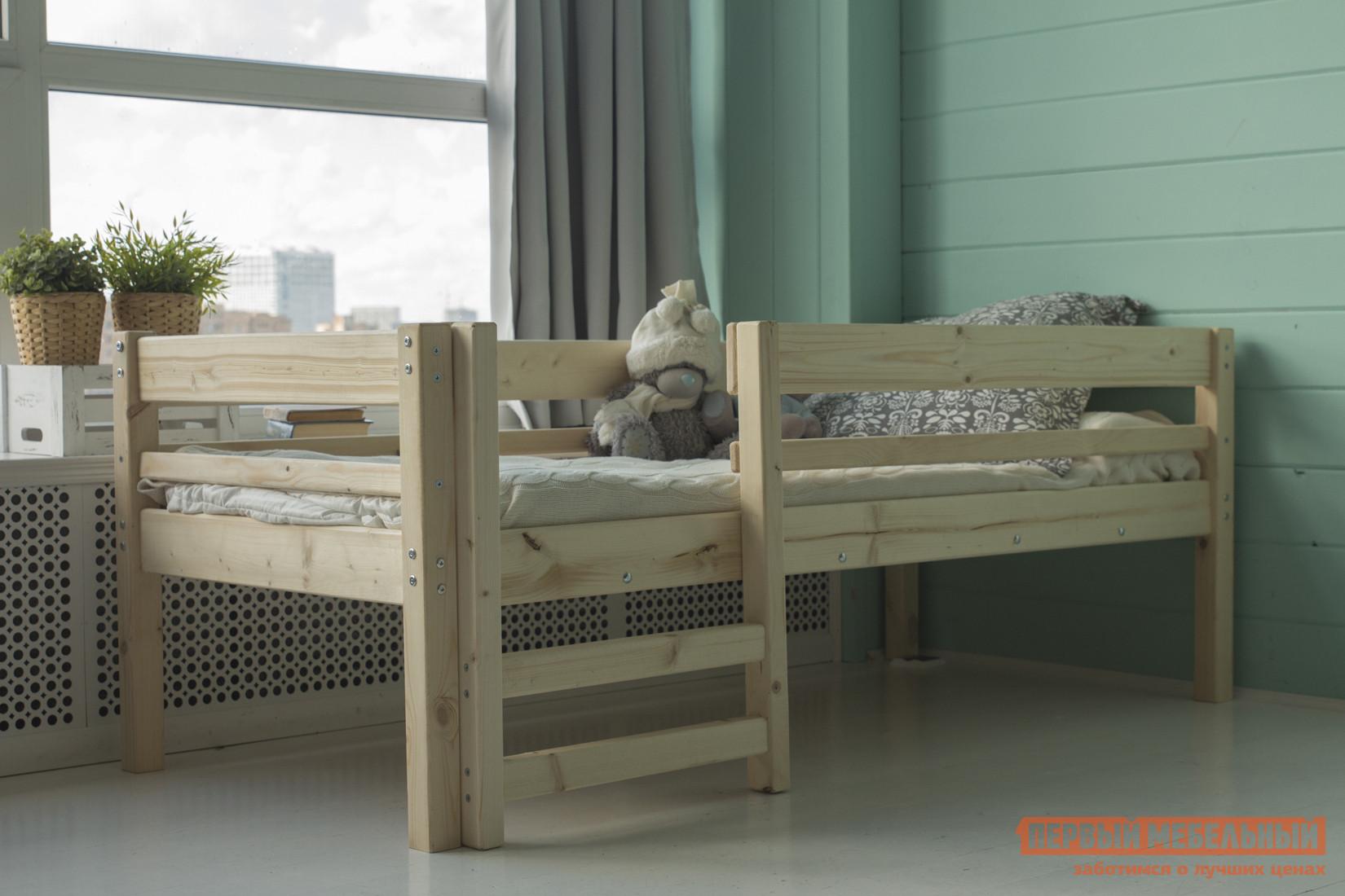 Детская кровать Green Mebel Твинни / Тедди Натуральный