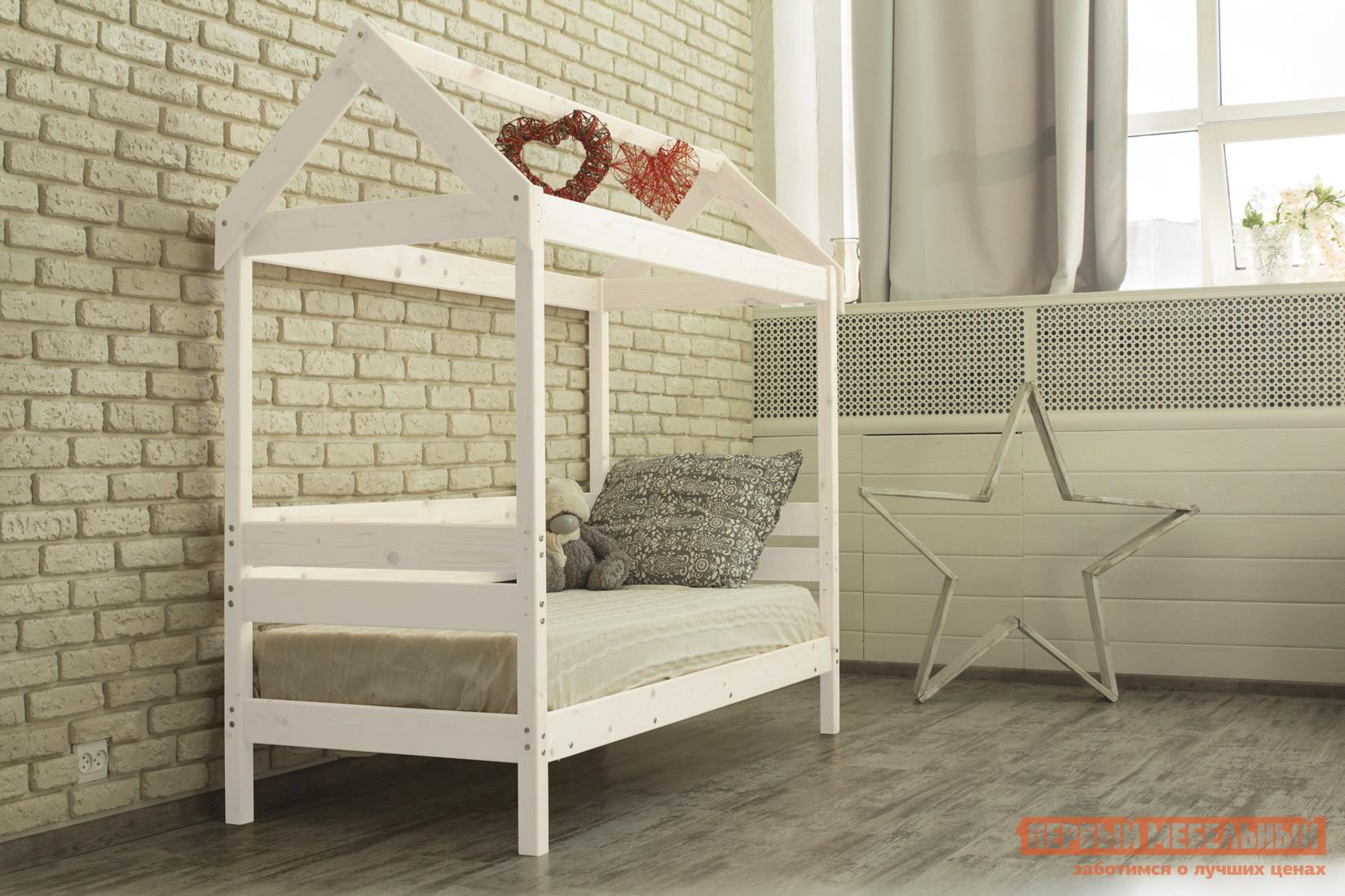 Детская кровать-домик Green mebel Домик / Вингс детская кровать домик андерсон дрима н