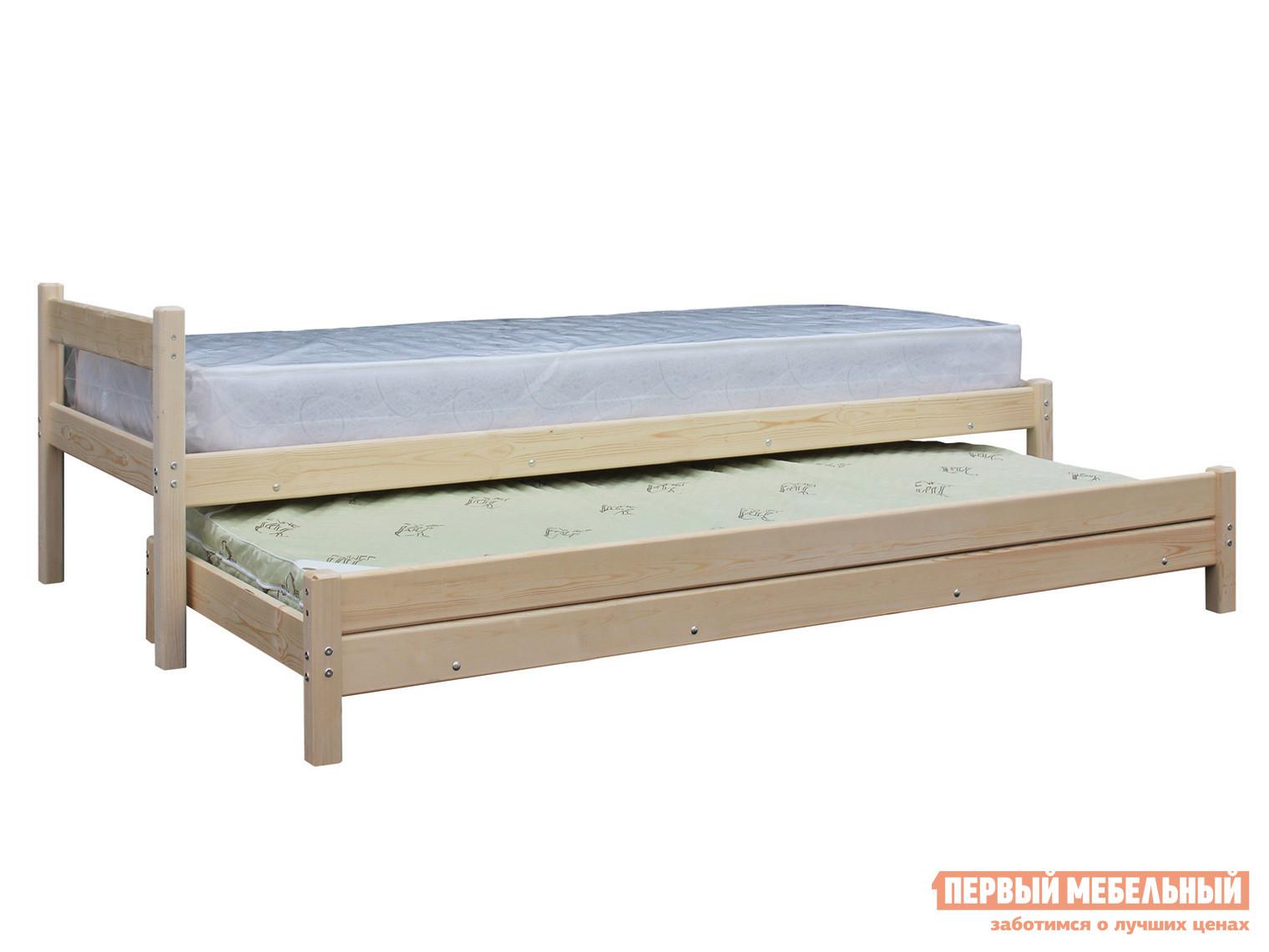 Детская кровать  «2 в 1» Натуральный