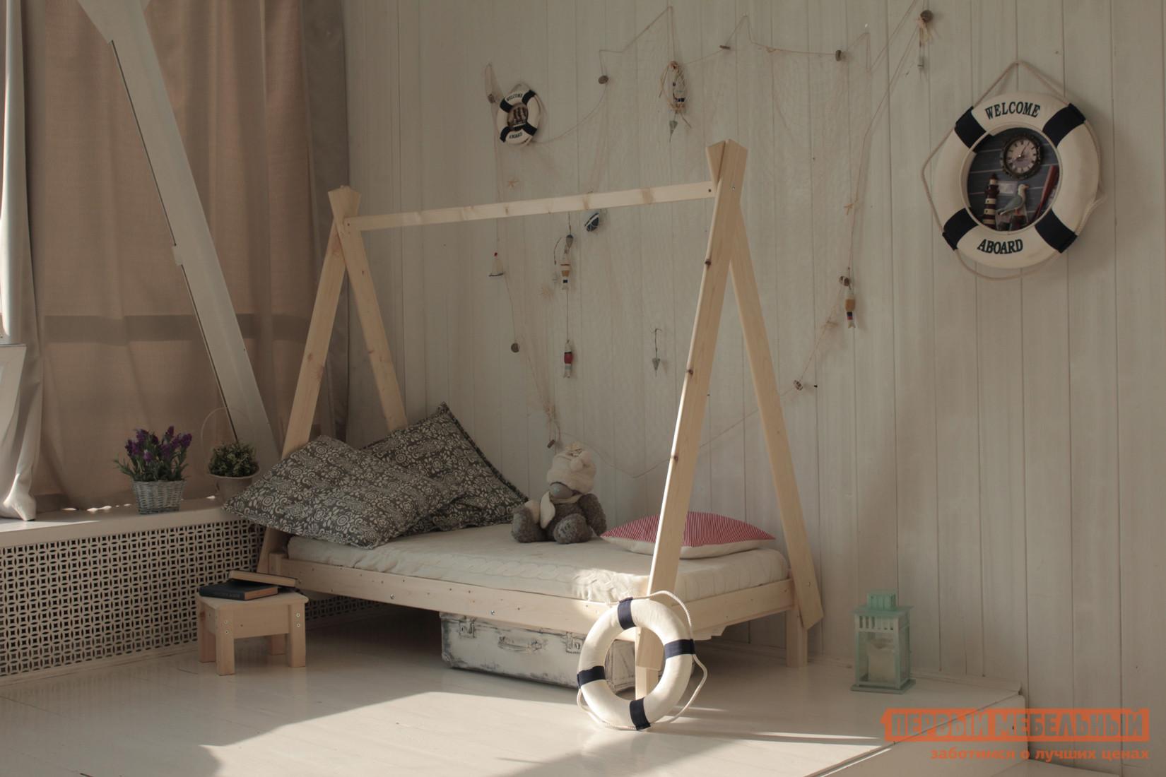Детская кровать-домик Green mebel Вигвам детская кровать kidkraft детская кровать кукольный домик с полочками