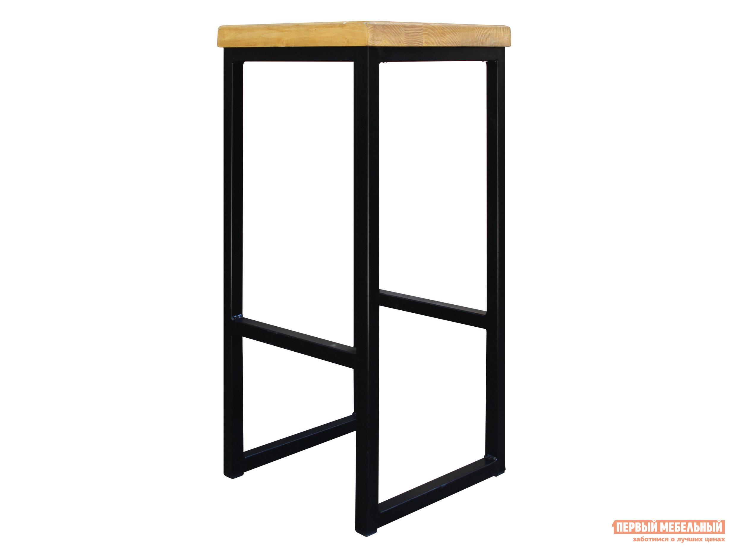 Барный стул Green Mebel Арт 1 Черный / Сосна лак от Купистол