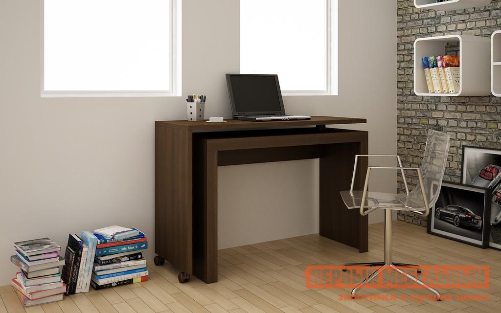 угловой письменный стол для двоих детей калабрия бс купить в москве