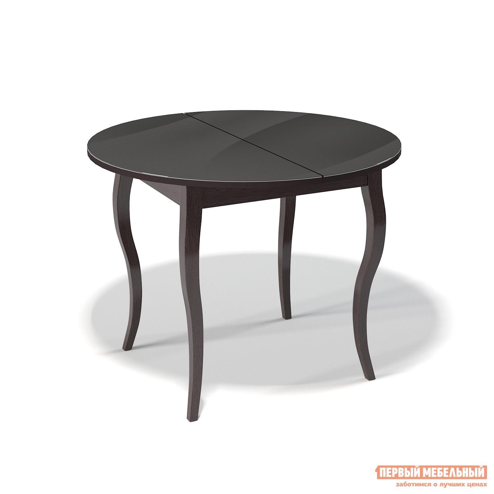 Круглый кухонный стол глянцевый ДИК KENNER 1000С круглый кухонный стол глянцевый дик kenner 1000с