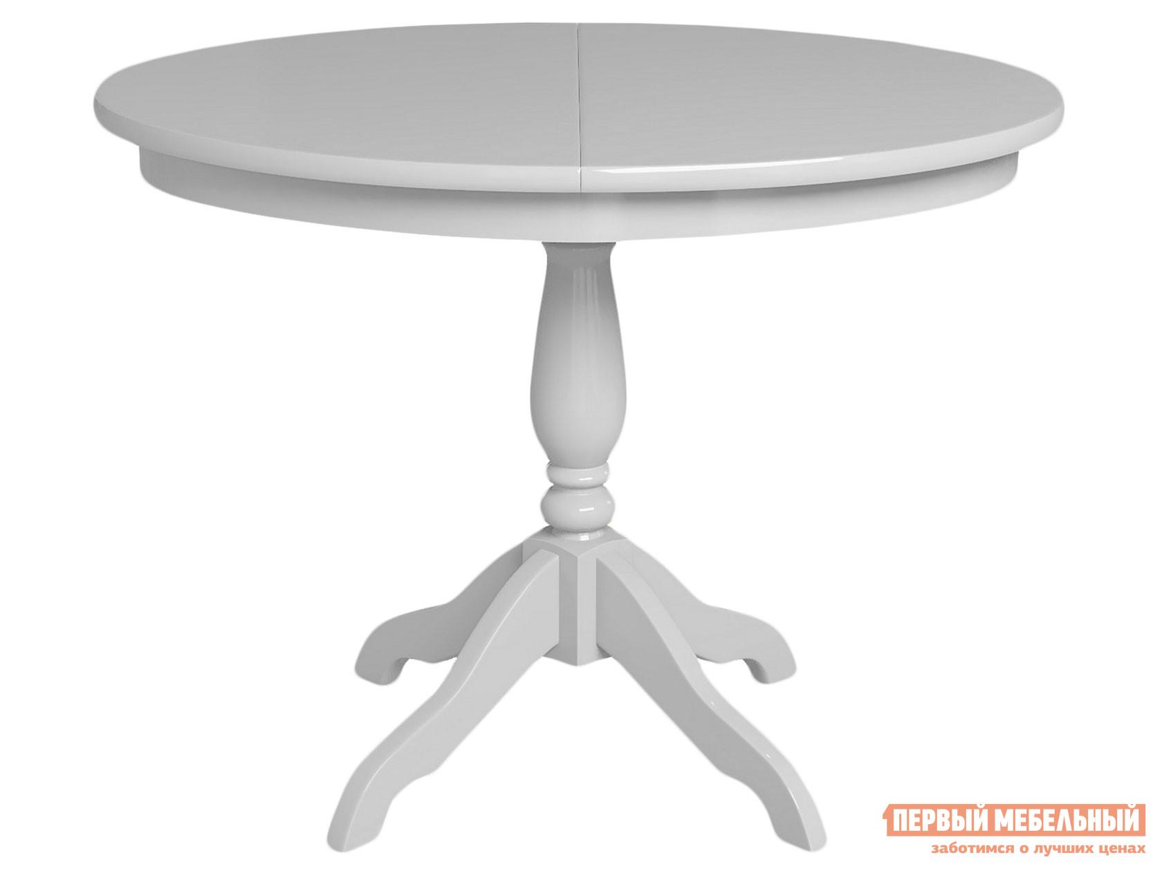 Кухонный стол  Стол Романс Белый — Стол Романс Белый