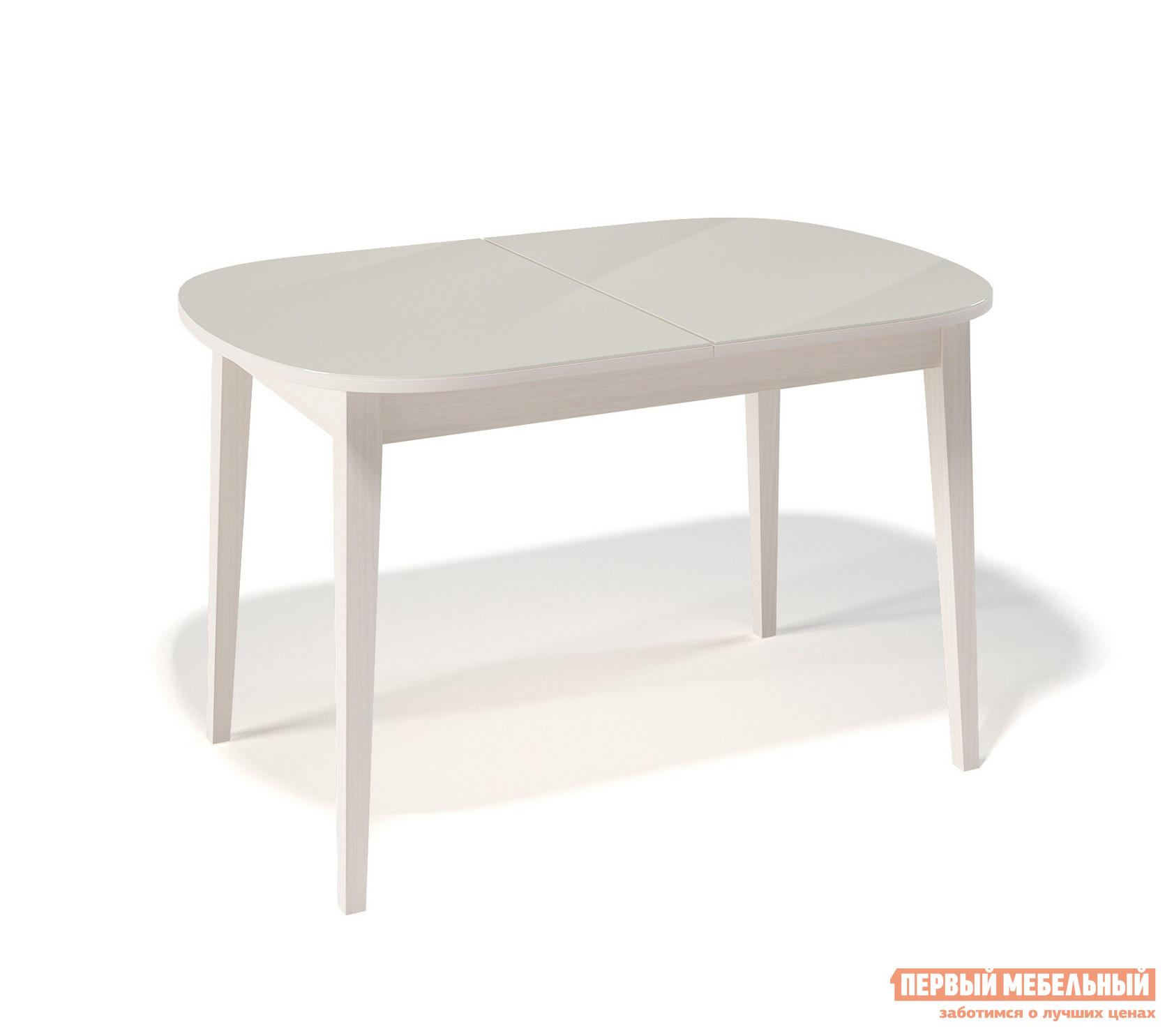 Кухонный стол глянцевый ДИК KENNER 1300М круглый кухонный стол глянцевый дик kenner 1000с