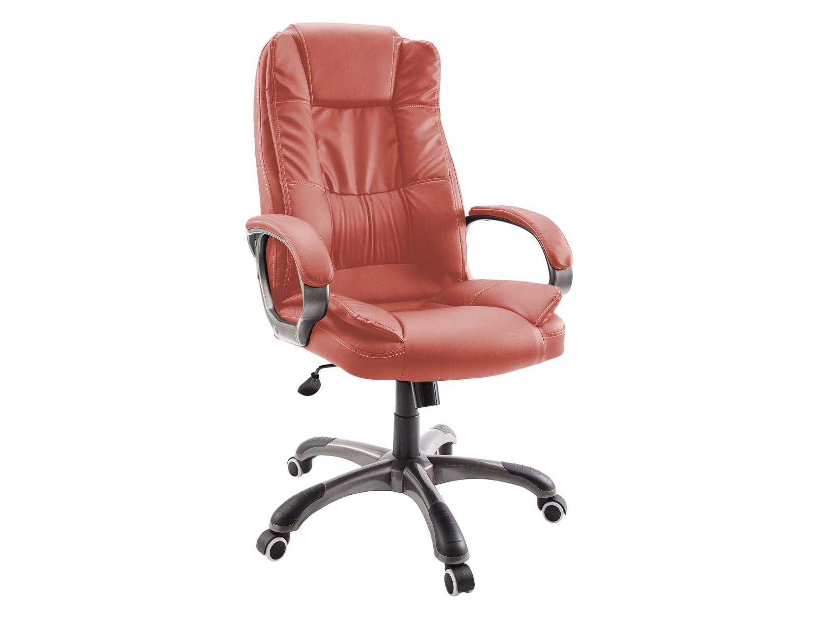 Кресло руководителя  Кресло руководителя Dikline CS55 Паприка, экокожа