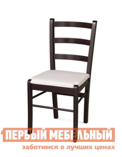 Стул ДИК PAVLA Венге / Белая иск.кожа