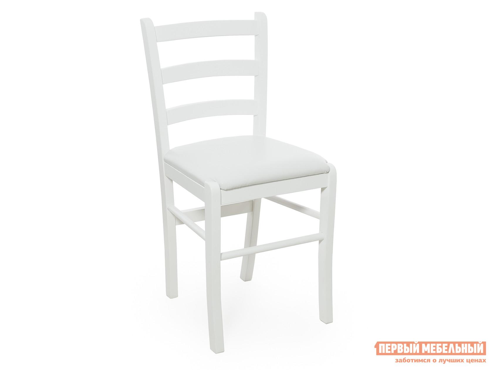 Кухонный стул ДИК PAVLA Белый / Белая иск.кожа от Купистол