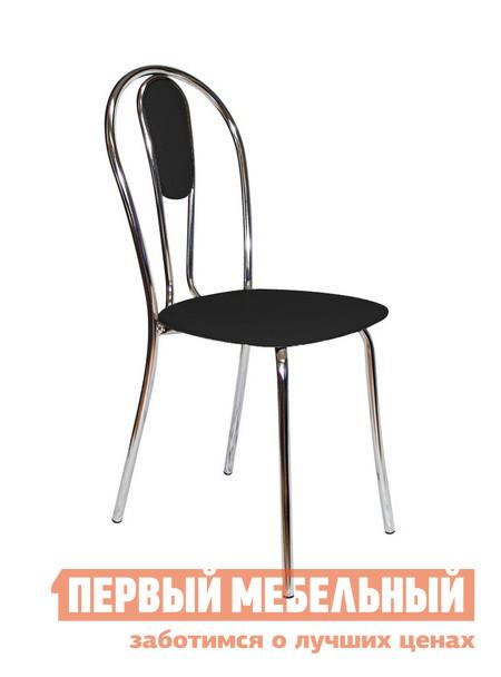 Кухонный стул ДИК Венус М Хром / Иск.кожа черная от Купистол