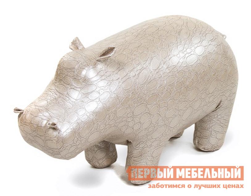 Пуф ДИК Бегемот экокожа (caiman) пуф s0152 01 st