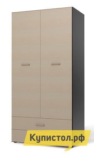 Шкаф распашной СтолЛайн СБ-925 Корпус дуб феррара / Фасад дуб кремонаГабаритные размеры ВхШхГ 2060x1030x620 мм. Шкаф для одежды.  За левой дверцей располагается отсек со штангой для вешалок, за правой  полки для одежды.  Внизу находятся два выдвижных ящика. Модульная система данной серии позволит вам сочетать необходимые элементы, комфортно и оптимально обустроить комнату.   Мебель изготовлена из ЛДСП, края обработаны кромкой ПВХ.  Изделие поставляется в разобранном виде с подробной инструкцией по сборке.<br><br>Цвет: Корпус дуб феррара / Фасад дуб кремона<br>Цвет: Темное-cветлое дерево<br>Высота мм: 2060<br>Ширина мм: 1030<br>Глубина мм: 620<br>Форма поставки: В разобранном виде<br>Срок гарантии: 18 месяцев<br>Тип: Прямые<br>Материал: из ЛДСП<br>Размер: Двухдверные<br>Особенности: С ящиками