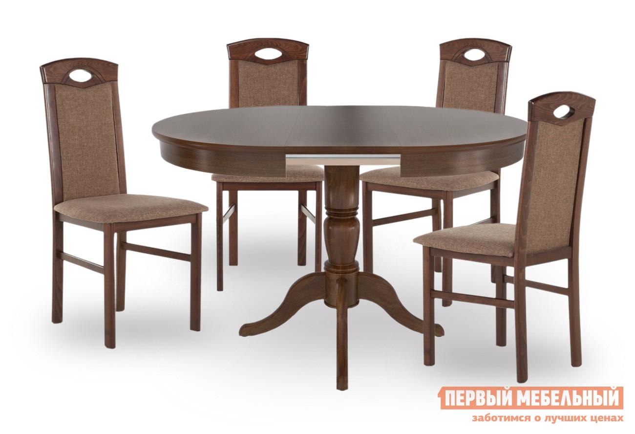Обеденная группа для гостиной СтолЛайн Фламинго 1 + 4 шт. Кармен обеденная группа для гостиной столлайн фламинго 1 4 шт кармен