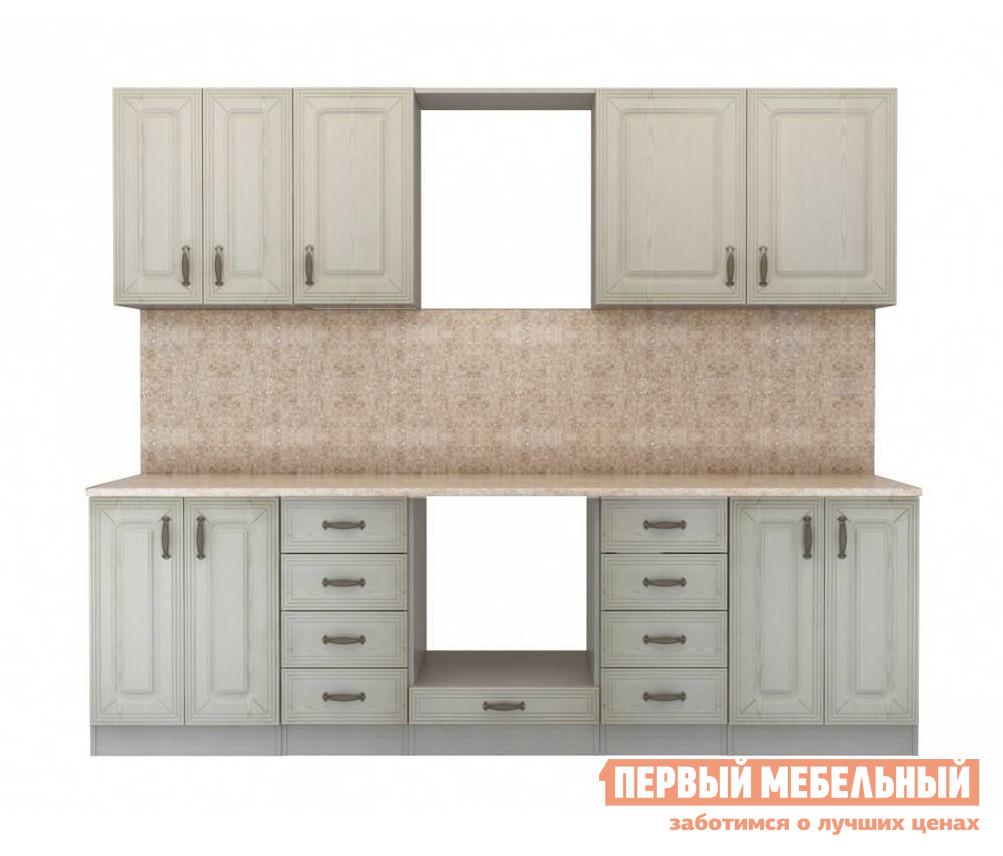 Кухонный гарнитур СтолЛайн Ника Ясень К4