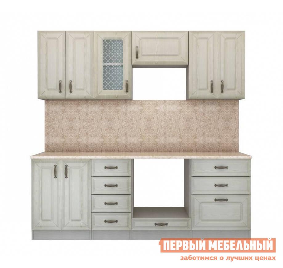Кухонный гарнитур СтолЛайн Ника Ясень К2