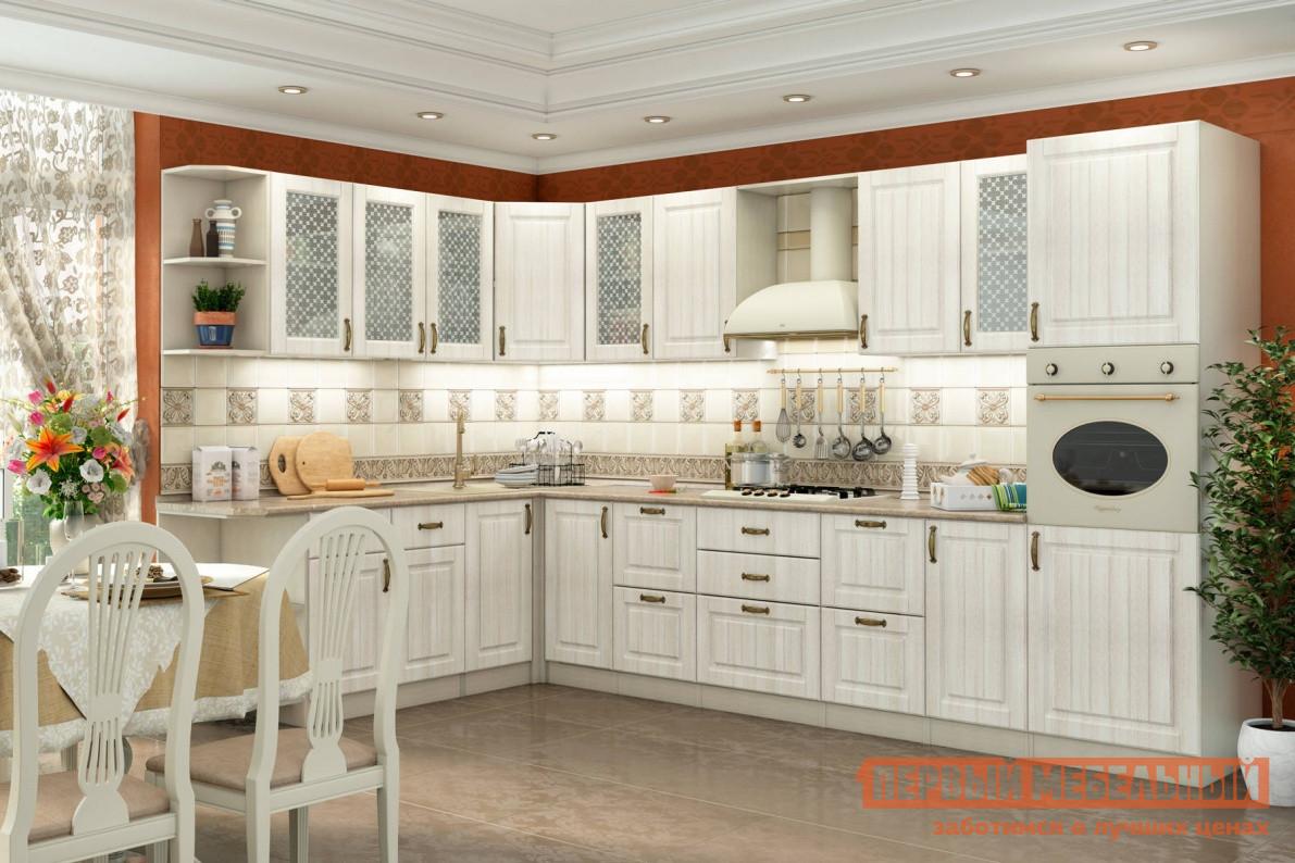 Кухонный гарнитур СтолЛайн Николь 2100*3460 Кантри кухонный гарнитур столлайн эмилия светлая к1