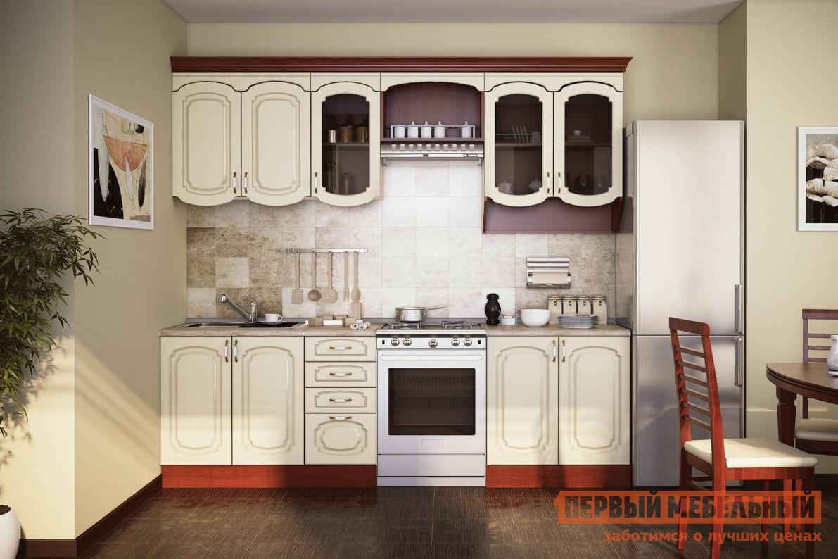 Кухонный гарнитур СтолЛайн Эмилия Крем К1 кухонный гарнитур витра глория 3 к1