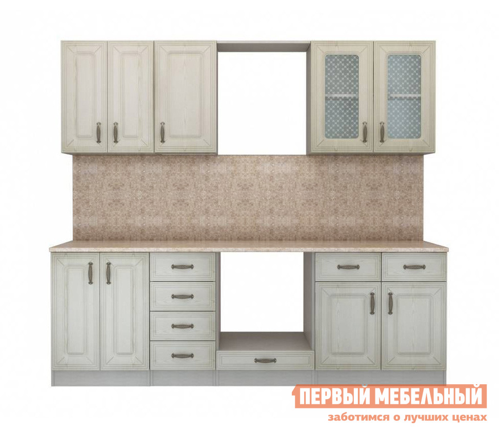 Кухонный гарнитур СтолЛайн Ника Ясень К3 кухонный гарнитур витра глория 3 к3