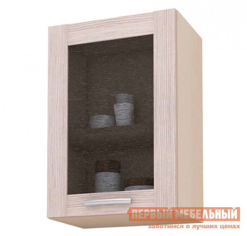 Шкаф-витрина СтолЛайн Навесной с ш.500, 1 дв (витрина) шкаф витрина адриана