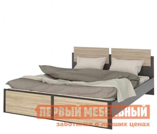 Кровать СтолЛайн СТЛ.142.04 Дуб Феррара / Дуб Сонома (Флёр), Без матраса от Купистол