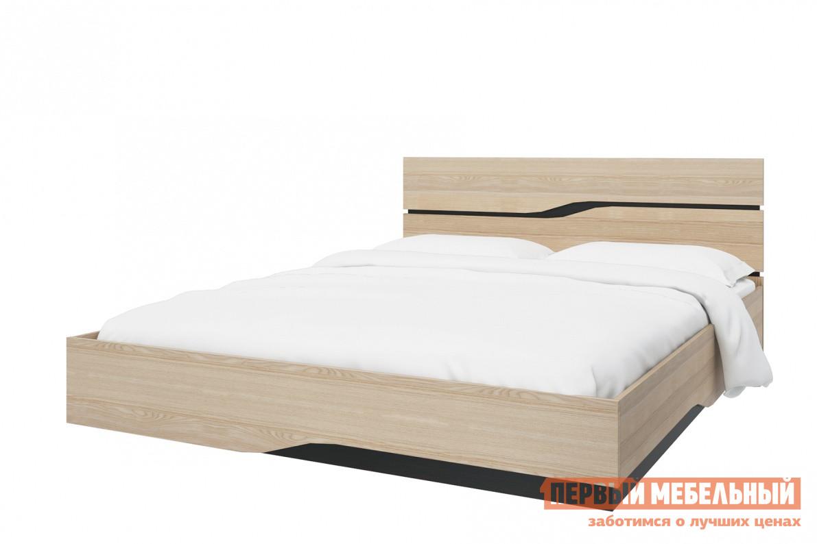Кровать СтолЛайн СТЛ.187.04+187.07 Ясень Песочный, Без ортопедического основания