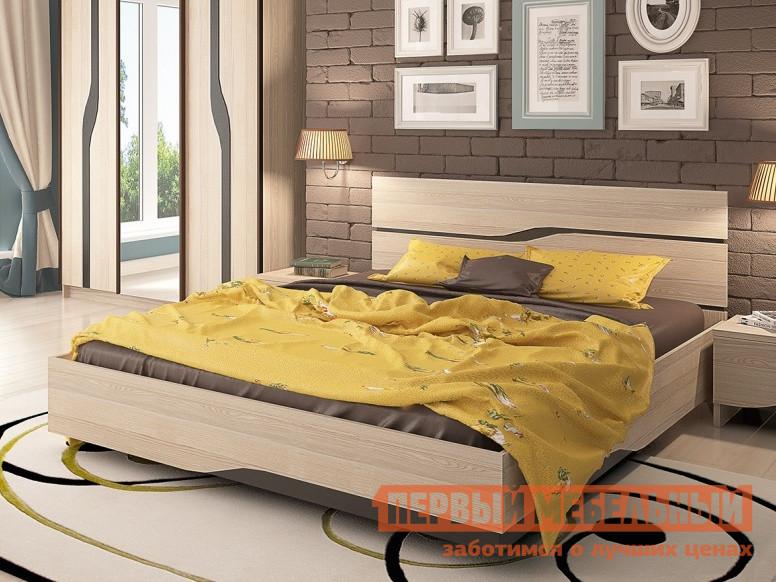 Двуспальная кровать СтолЛайн СТЛ.187.04+187.07 кровать 120х200 гриф стл 063 15 01