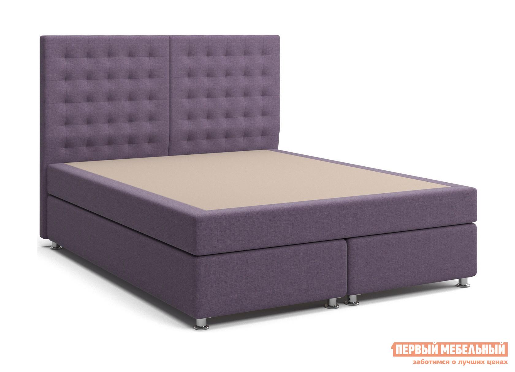 Двуспальная кровать СтолЛайн Парадиз 3 (единый матрас «Боннель») двуспальная кровать с матрасом столлайн парадиз 2 матрасы боннель 2 шт