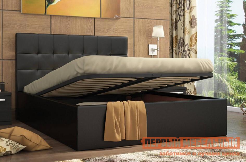Двуспальная кровать СтолЛайн Находка с ПМ двуспальная кровать с матрасом столлайн парадиз 2 матрасы боннель 2 шт