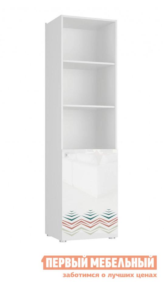 Стеллаж в детскую СтолЛайн Модерн 5 шкаф 1-дверный открытый