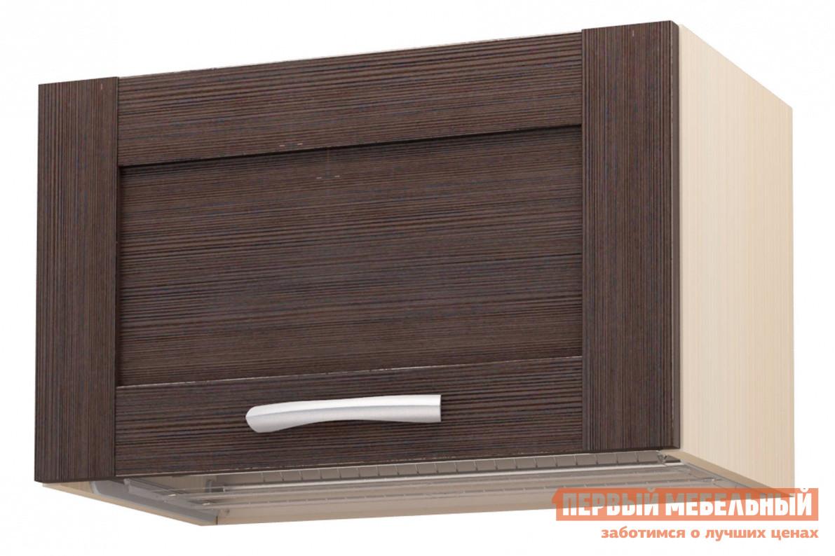 Кухонный модуль  Навесной 360х600 Дуб Кремона, Дуб Темный