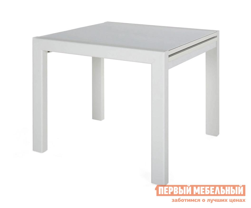 Стеклянный обеденный стол глянцевый СтолЛайн Джокер-Лайт