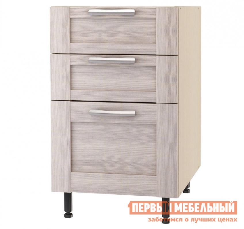 Кухонный модуль СтолЛайн Шкаф напольный с 3 ящиками ш.500